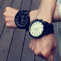 Korean Fashion Relogio Men Necessary Sport Large Dial Student Watch Neutral Silicone Watches Business Wristwatch New