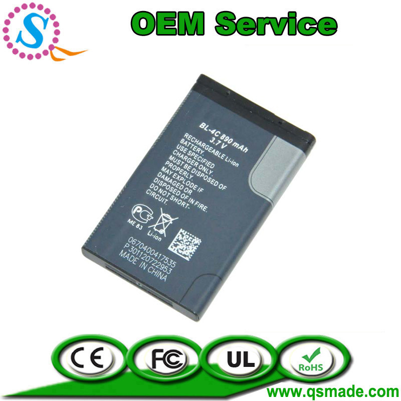 ( Free Shipping )Original Standard BL-4C Battery For Nokia c2-05 2220 6100 6300/1202/1265/1325/1661 Mobile Phone(China (Mainland))