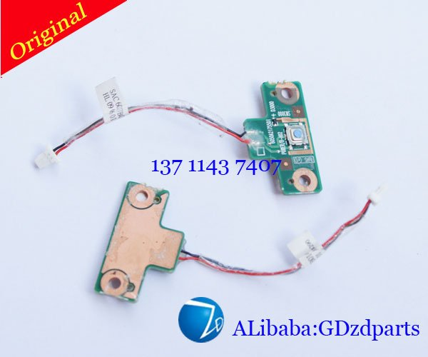 Cleanrance Fully tested For Toshiba Satellite A300 Power Button Board 6017b0144801(China (Mainland))