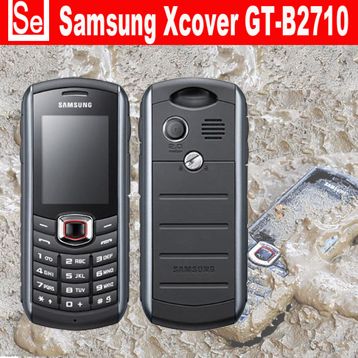 original samsung xcover b2710 cell phone waterproof ip67 unlocked mobile phones 2mp free. Black Bedroom Furniture Sets. Home Design Ideas