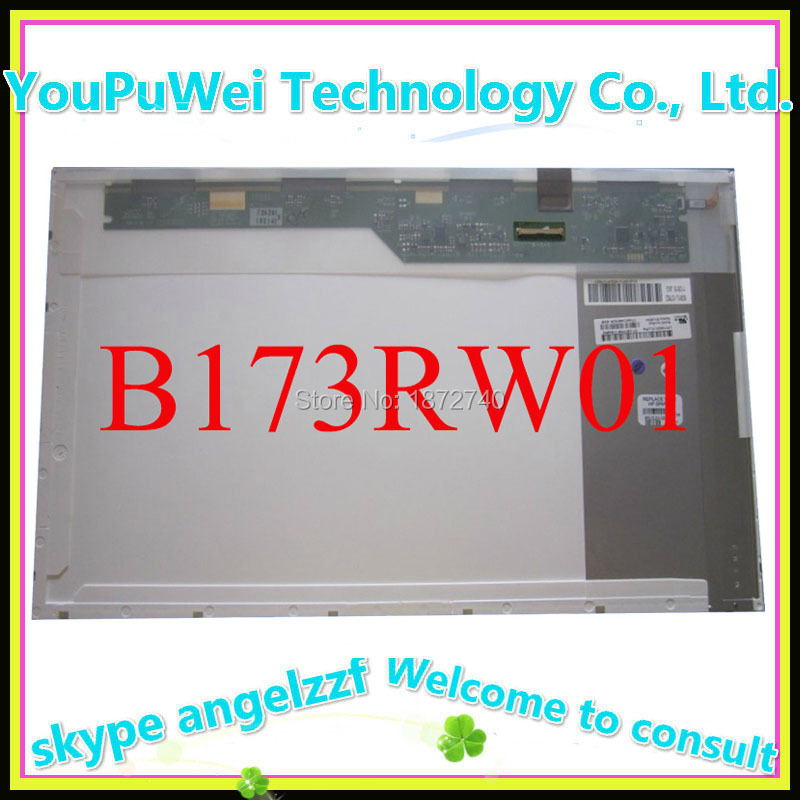17.3''lcd matrix B173RW01 V.3 V.5 V4 N173FGE-L23 LTN173KT01 LTN173KT02 LP173WD1 TLA1 LP173WD1 TLN2 Laptop LCD screen panel 40pin(China (Mainland))