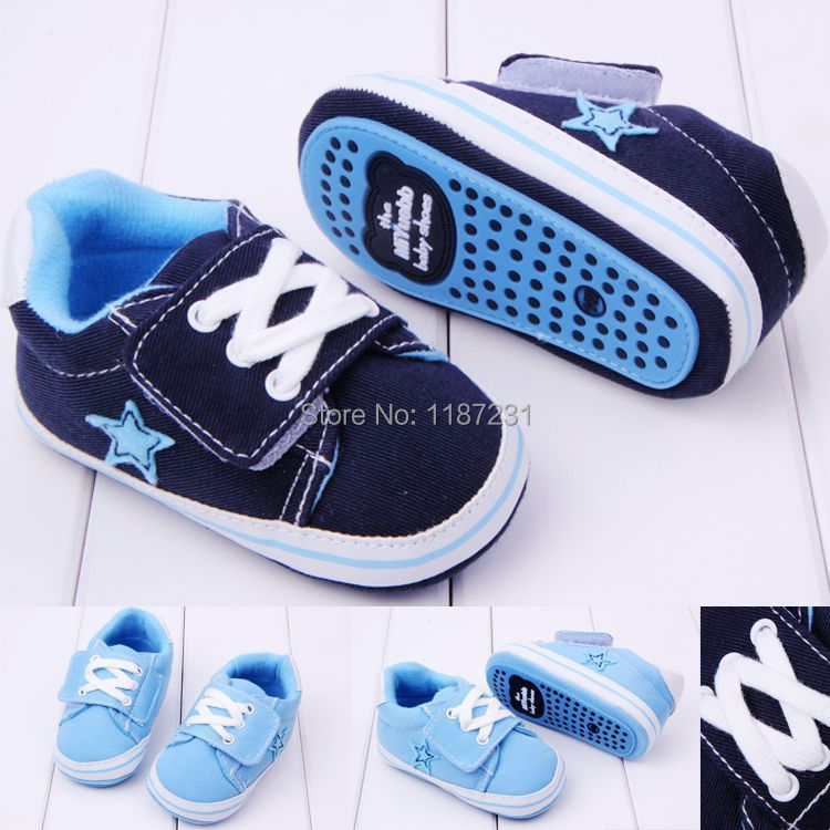 2014 New Baby Boy Canvas Sports Prewalker Shoes,Infant Soft Sole Shoes Learning Walk,Good Quality,Baby Footwear(China (Mainland))