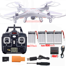 Original syma x5c-1100% Remote Control RC Helicopter RC Quad-copter Drone Ar.Drone With HD Camera x5c(China (Mainland))