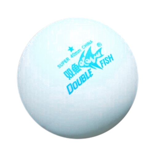 Good deal Generic 6 x 1 Plain White (logo free) Special Quality Table Tennis Balls. 40mm.(China (Mainland))