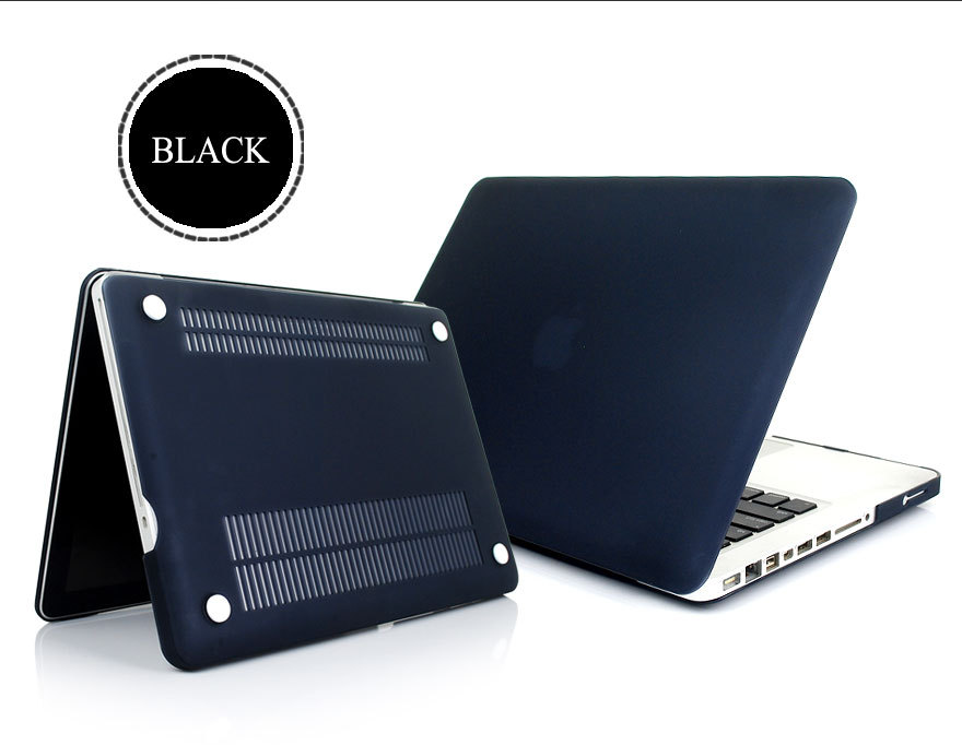 """Laptop Crystal Case Cover Skin for Macbook Pro 13"""" inch Matte Rubberized Sleeve Protective Clear Hard, 10PCS DHL Free(China (Mainland))"""