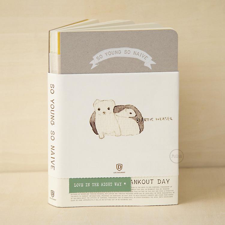Cute Cartoon Stoat Design Sketchbook 12.5*18.5cm Children Sketch Book Journal Kawaii Limited Edition Notebooks 256 Pages Gift<br><br>Aliexpress