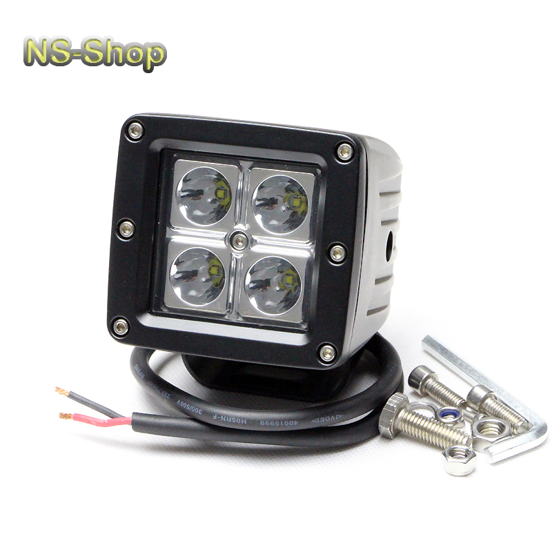 "3"" Brand New 16W C ree LED Work Light Lamp for Motorbike Yacht Boat Suv Off Road Forklift Bowfishing marine ATV Spot 12-24V(China (Mainland))"