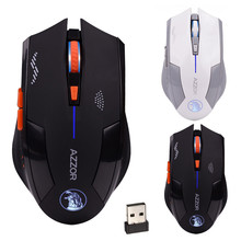 Buy Malloom Mouse Cool Magic Hawk Style Ergonomic Hybrid 2.4GHz Wireless 6D Rechargeable 2400DPI X3 6 Buttons Optical Gaming Mouse for $7.12 in AliExpress store
