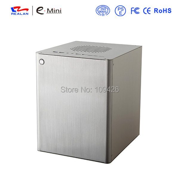Realan htpc computer case , mini pc case , itx case aluminum(China (Mainland))