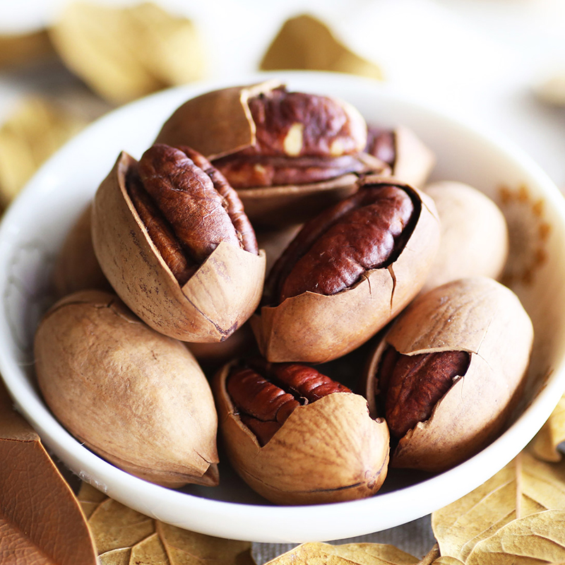Promotion Delicous Chinese Food Hickory Nut Snacks Nut Casual Snacks Chinese Snacks 210g 2 Free Shipping