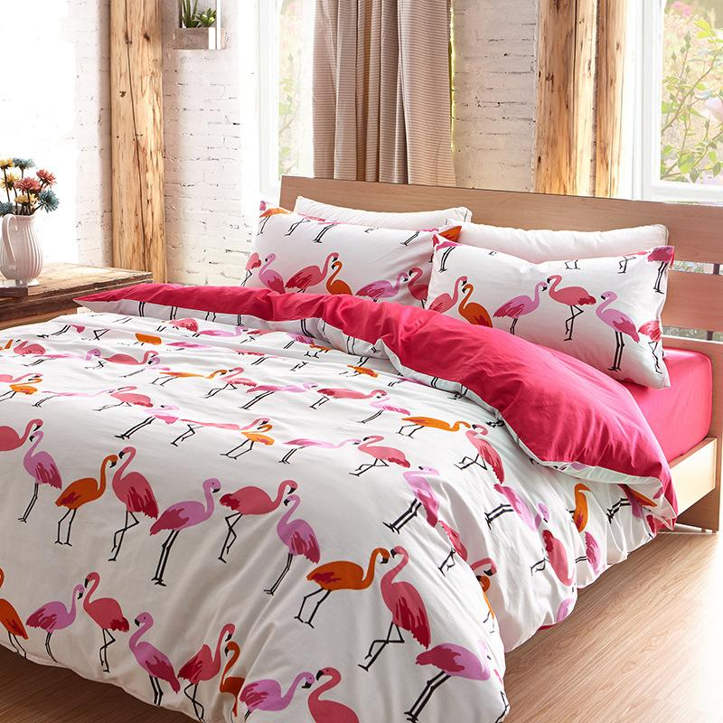 Buy Luxury Flamingo Bird Bedding Set