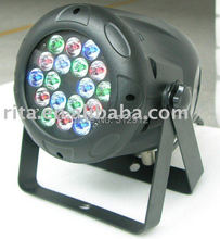 LED PAR56 DMX 18*3W stage light;6R6G6B(China (Mainland))
