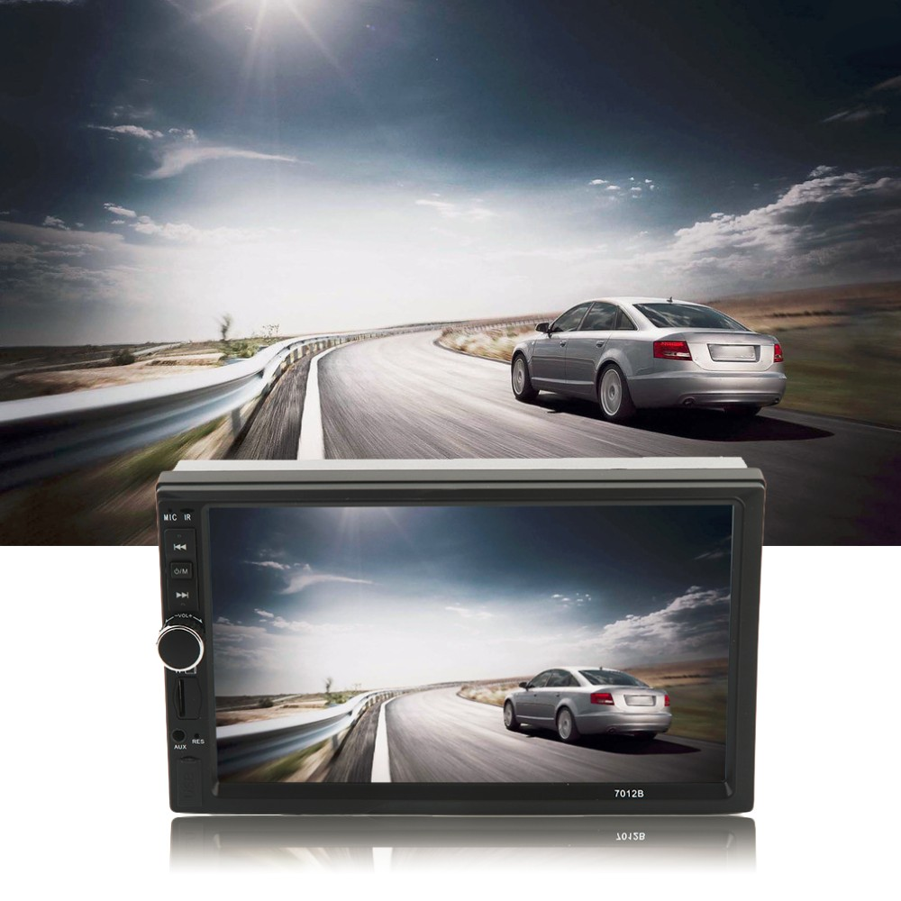 Hot Car Vehicle 7 Inch 7018B Screen TF Card Doule Din Bluetooth DVD Player Auto Multimedia Player Audio Player 12V