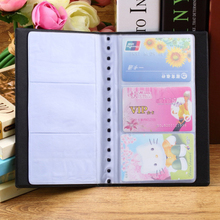 Newest Portable 120 Cards Leather Business Name ID Credit Card Holder Keeper Organizer Book#ZH275