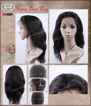 bleaned knots Body wave natural color 100% hair wigs full lace hair women wigs with baby hair on natural hairline