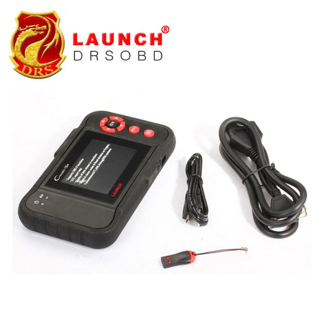 Original LAUNCH CREADER VIII OBD2 Code Reader CReader 8 Diagnostic 4 System  Engine Transmission ABS Airbag Free Online Update