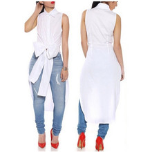 New Arrivals 2015 Women Dresses Novelty Big Bow Sleeveless T Shirt Dress Vestidos White Blusa Feminina Night Club Dress QL1282(China (Mainland))