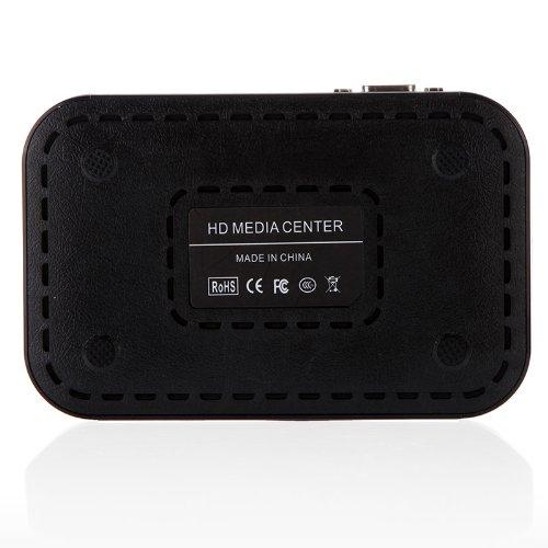 ETC-Full HD 1080P Media Player Center RM/RMVB/AVI/MPEG Multi Media Video Player with HDMI VGA AV USB SD/MMC Port Remote Control(China (Mainland))
