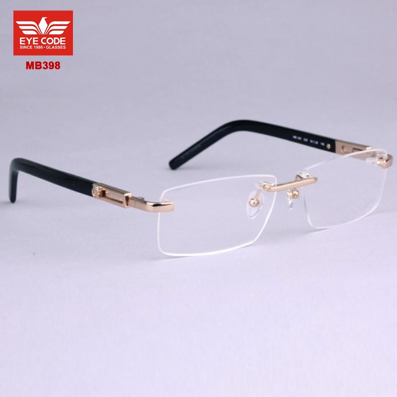 Fashion-Eyewear-designer-brand-eyeglasses-MB398-rimless ...