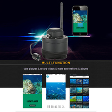 LUCKY Fish Finder Portable WIFI Underwater Camera 80m Wireless Operating Range Carp Fishing For Android / IOS(China (Mainland))
