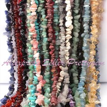 "Buy Natural Beads Chip,Fluorite,Kyanite,Larimer Stone Strand 34""4-6x6-8mm DIY Necklace Jewelry Making,Wholesale Free for $4.28 in AliExpress store"