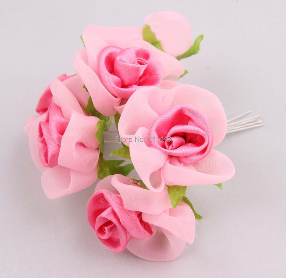 Satin rose bouquet achetez des lots petit prix satin for Livraison fleurs pas cher livraison gratuite