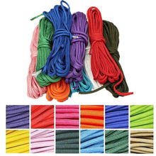 5m Desert 550 Paracord Parachute Cord 7 Core Strand Nylon Survival Outdoor Climbing Camping Free shipping