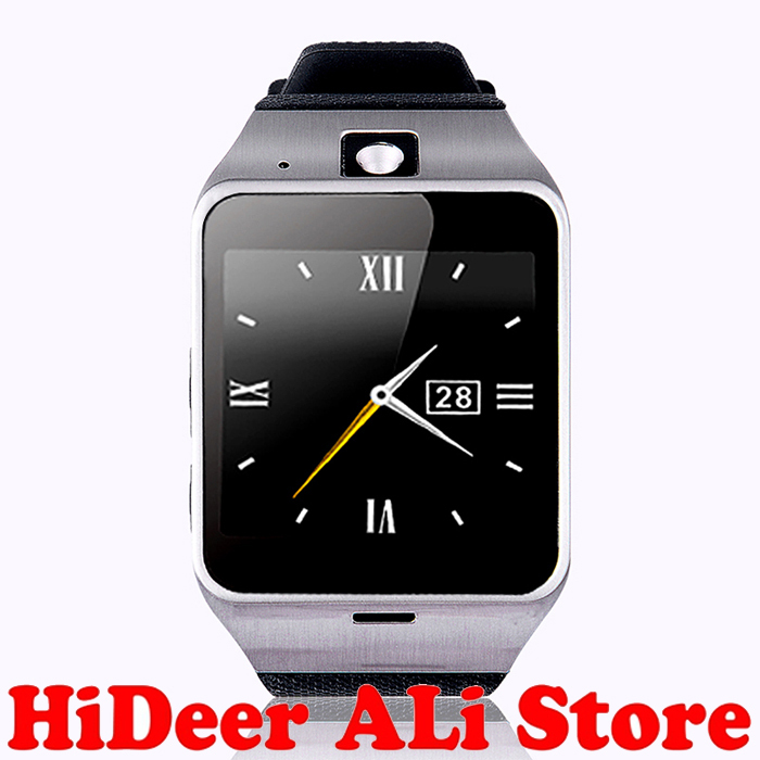 First support NFC GV18 Smart bluetooth wristWatch Camera Android watch Phone SIM card Smartwatch smartphone - HiDeer Tech Co., Ltd Store store