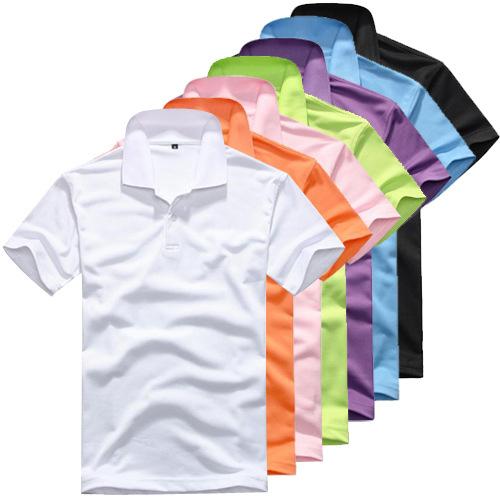 2015 New Men Loose Short Sleeve brand POLO Shirt Man Turn down Collar Casual POLO Shirt Multi-Colors Asian Size M-XXXL, CA117(China (Mainland))