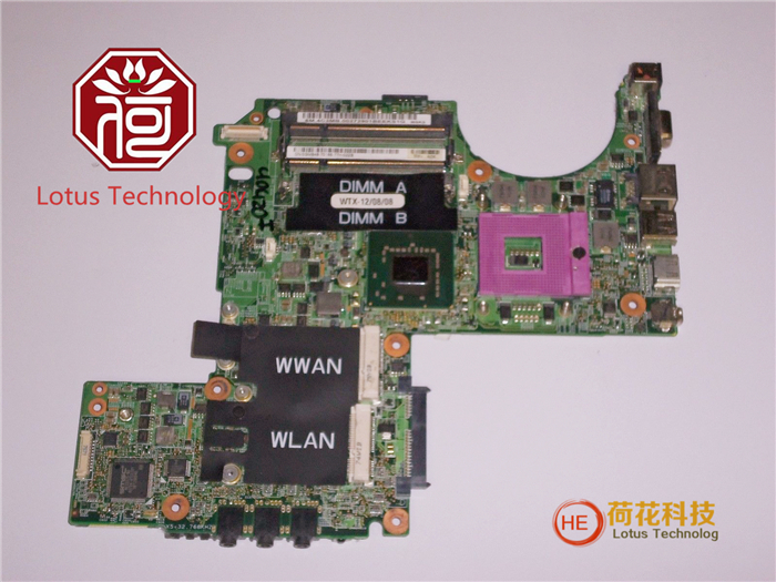 Free shipping LAPTOP MOTHERBOARD FOR Dell XPS M1330 Motherboard GM848 48.4C305.011 100%Perfect test Run work(China (Mainland))