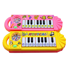 Free Shipping  New Useful Popular 0-7age Baby Kids Piano Music Developmental Cute Toy M0073 P(China (Mainland))