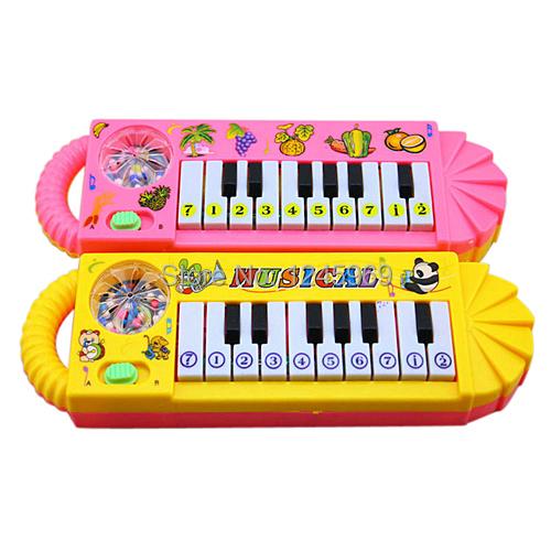 Free Shipping New Useful Popular 0-7age Baby Kids Piano Music Developmental Cute Toy M0073 P(China (Mainland))