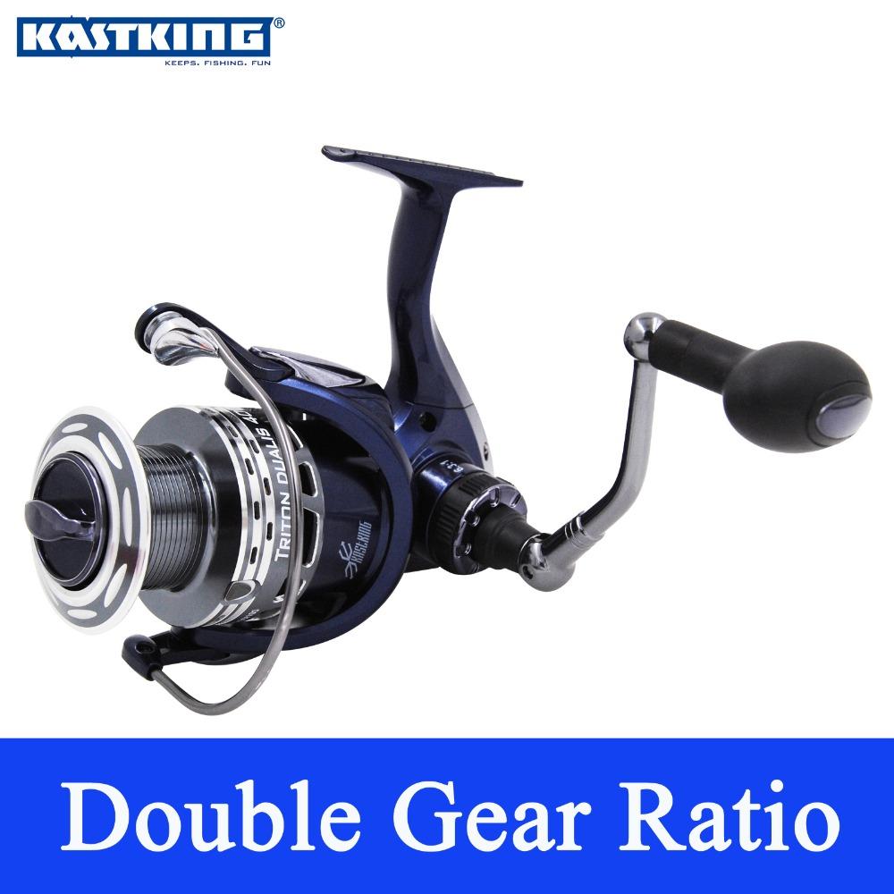 KastKing Triton Dualis 2016 New Dual Speed Spinning Reel 11BBs 4000 Series Spinning Fishing Reel with 10KG Drag Free Shipping(China (Mainland))