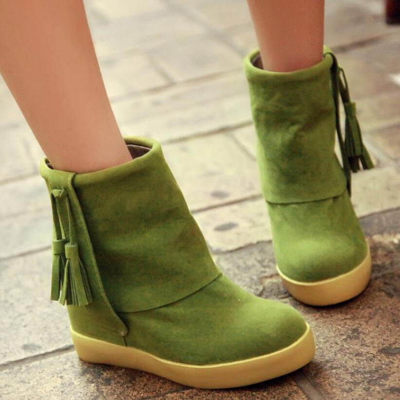 Light Pink Ankle Boots Ankle Boots Green Pink