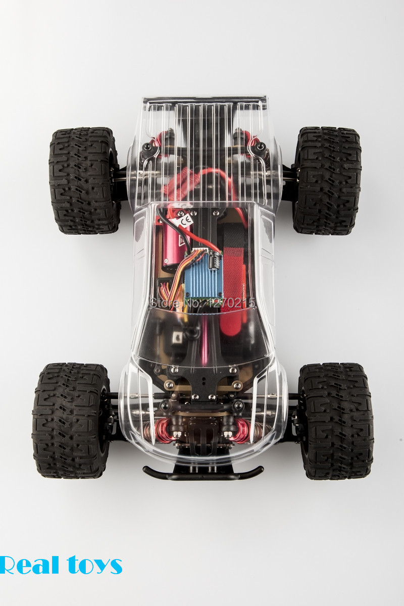 LC Racing EMB-MTL 1/14 scale 4WD electric brush motor RC Monster truck RTR version 2.4G radio(China (Mainland))