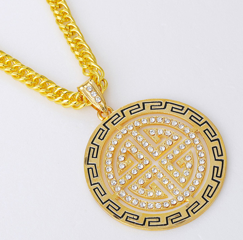 aliexpress buy statement necklace 2015 hiphop