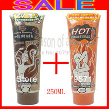 1+1=2 boxes 250ML CHILI+COFFEE SLIMMING GEL CREAM Weight Loss product/fat burning Free Shipping