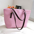 New Korea Large Capacity Bag Oracle Vintage Women PU Leather Shoulder Lady Bags Totes for Shopping