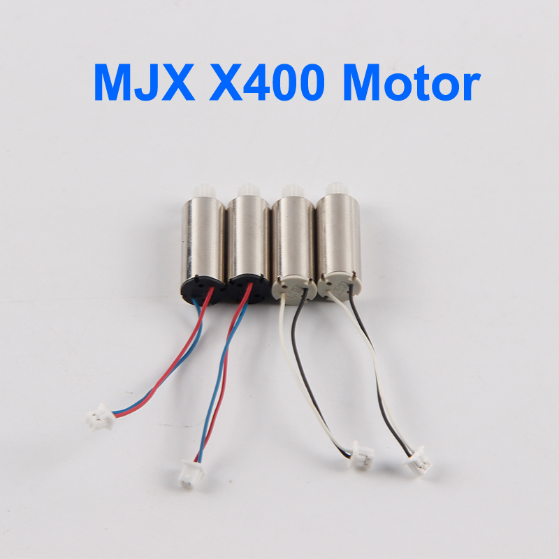 4pcs original mjx x400 motor clockwise and anti clockwise