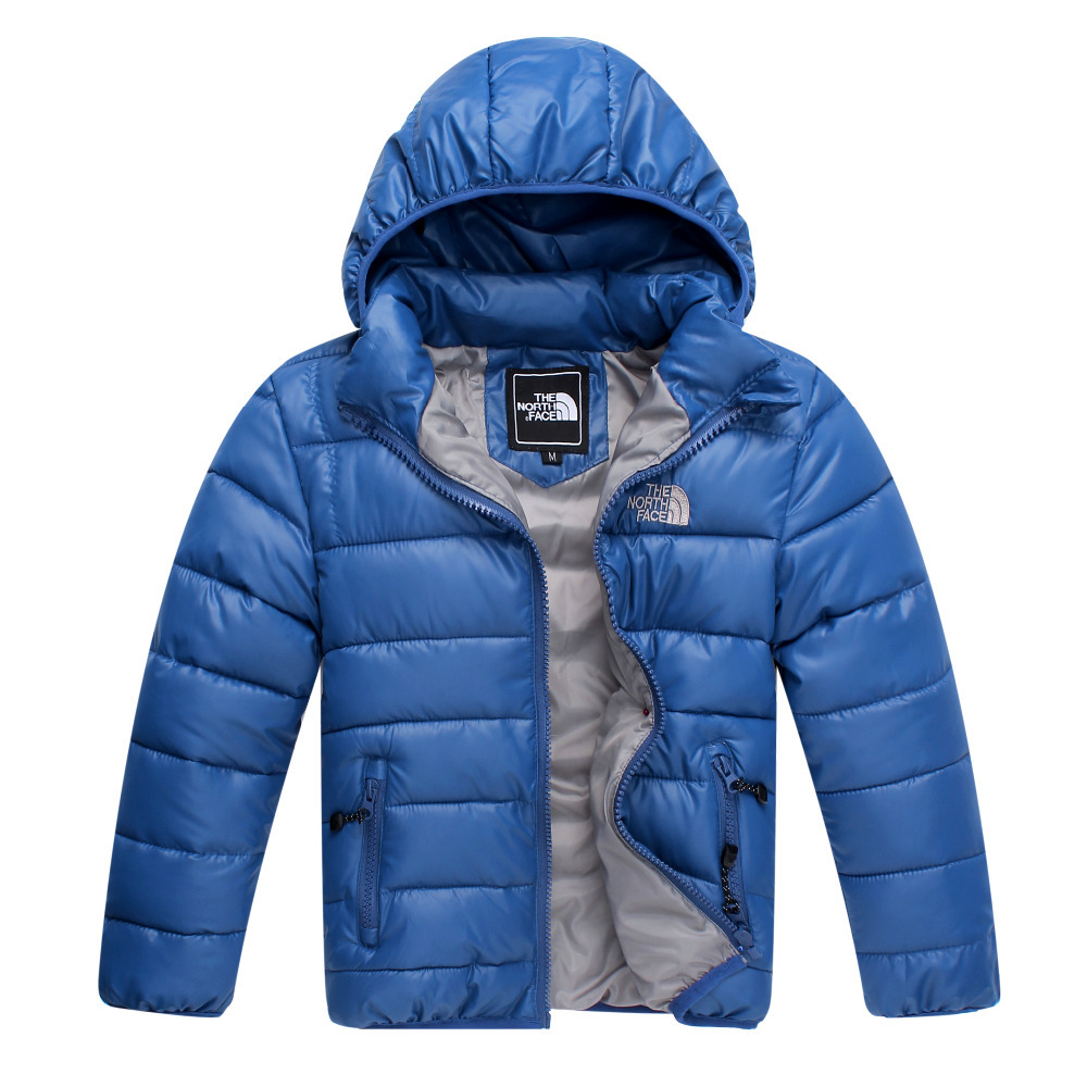 JW-064 Retail 2015 new style children's down cotton coat winter warm baby boys clothing boys outwear kids coat free shipping(China (Mainland))