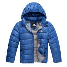 Jw-064 Retail 2015 nuevo estilo de los niños abajo de algodón abrigo de invierno caliente de los bebés ropa niños outwear niños abrigo del envío gratis(China (Mainland))
