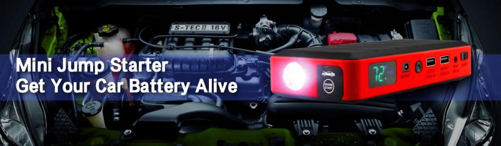 Купить Автомобиля Система Запуска 26000 мАч Автомобиль Скачок Стартер 12 В Мини Портативный Power Bank Аварийного питания для Автомобиля + Пластиковый Кейс Для Переноски ВЕЛИКОБРИТАНИИ Plug