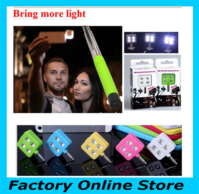 5pcs Free Ship flash iBlazr Selfie Using Sync LED Flash Light 4 leds Enhancing led video light For iphone samsung Tablet Camera(China (Mainland))