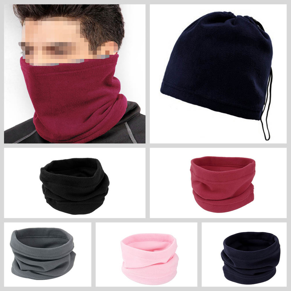 Гаджет  3-in-1 Winter Skiing Cycling Hiking Scarf Neck Warmer Face Mask Hat Snood free shipping None Одежда и аксессуары