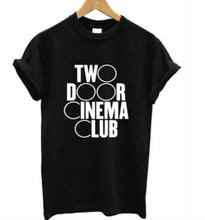 TWO DOOR CINEMA CLUB T SHIRT Northern Irish INDIE ROCK BAND MUSIC Men T shirt Casual Cotton Tee Short Sleeve T-shirt