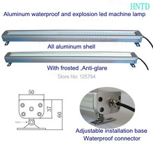 HNTD-41 380mm 10W 24V LED Metal explosion-proof lamp Sealed waterproof CNC  machine Lamp(China (Mainland))
