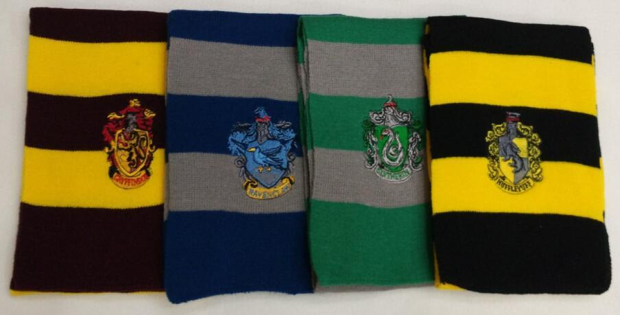 Harry Potter Hufflepuff Scarf Knitting Pattern : Harry Potter Scarf Stripe Striped Gryffindor Hufflepuff ...