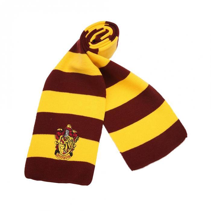 Hot Harry Potter Scarf Scarves Gryffindor Hufflepuff Slytherin Knit