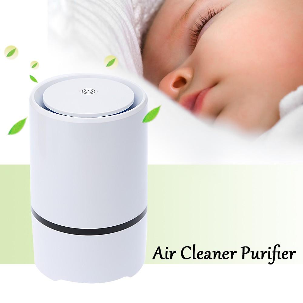DC5V USB Mini Air Cleaner Purifier Negative Ion Ionizer Fresh Air Home Use(China (Mainland))