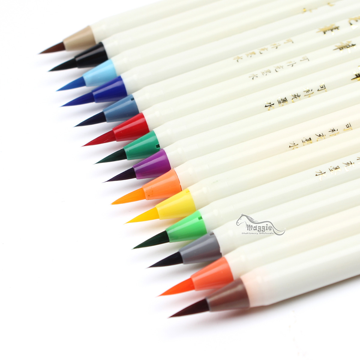 Colorful Calligraphy Pen Soft Brush Marker Watercolor